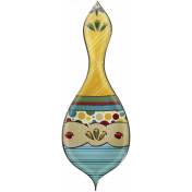Nutcracker Doodle- Ornament 08