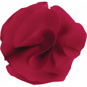 The Nutcracker- Red Fabric Flower 2