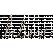 The Nutcracker- Believe Word Art
