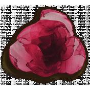 Nutcracker Red Flower- Shadowed