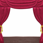 Nutcracker Doodle- Theater Stage Curtain