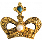 The Nutcracker- Crown Brooch