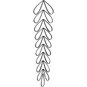Branch Doodle Template 003