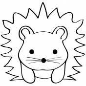 Animal Doodle Template 006