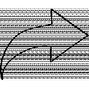 Arrow Doodle Template 002