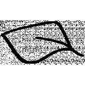 Leaf Doodle Template