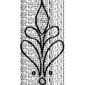 Ornamental Doodle 03 Template