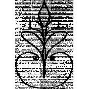 Ornamental Doodle Template 005
