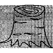 Stump Doodle Template