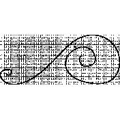 Swirl Doodle Template 025