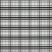 Layered Plaid Paper Template