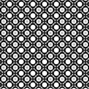 Layered Winter Quatrafoil Paper Template