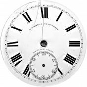 Clock Face Template 001