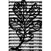 Oak Leaf Stamp Template