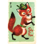 Woodland Winter- Sly Fox Card