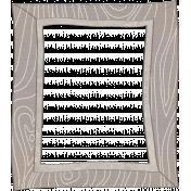 Woodland Winter- Frame Doodle 1