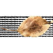 Woodland Winter- Leaf 2