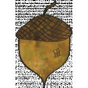 Woodland Winter- Acorn Doodle