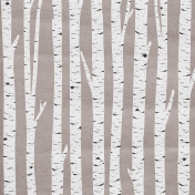 Woodland Winter- Birch Paper