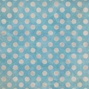 Woodland Winter- Blue Dots 2 Paper