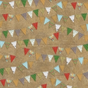 Woodland Winter- Bunting Paper