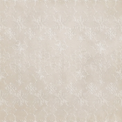 Woodland Winter- Cream Snowflakes Paper
