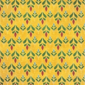 Woodland Winter- Yellow Ornamental 1 Paper