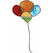 Woodland Winter- Flower Doodle 1