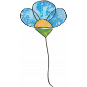 Woodland Winter- Flower Doodle 3