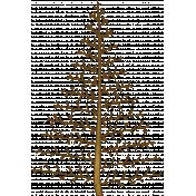 Woodland Winter- Tree Doodle 2