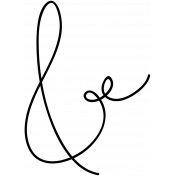 Ampersand Doodle Template 002