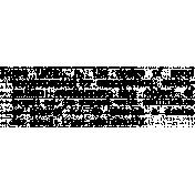 Word Art Template 025