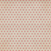 Rustic Charm- Pink Dots Paper