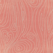 Rustic Charm- Pink Wood Grain Paper