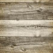 Rustic Charm- Wood Paper