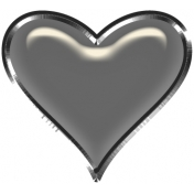 Layered Heart Charm Template