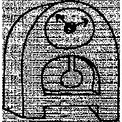 Clock Doodle Template 002