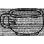 Teacup Doodle Template 001