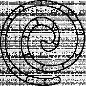 Swirl Doodle Template 002