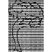 Tree Doodle Template 007