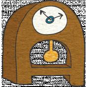 Look, A Book!- Clock Doodle