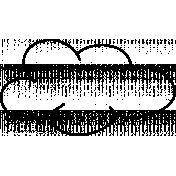 Cloud Doodle Template 003