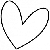 Heart Doodle Template 013