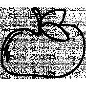 Fruit Doodle Template 004