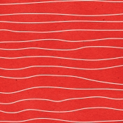 Look, A Book!- Red Wave Paper