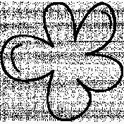 Flower Doodle Template 022