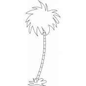 Tree Doodle Template 008