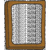 Look, A Book!- Dot Frame Doodle