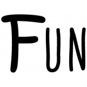 Fun Word Art Template 001
