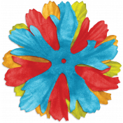Look, A Book!- Multicolor Flower